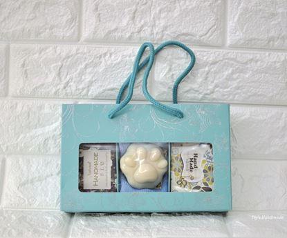 圖片 天然手工皂(3入禮盒組)