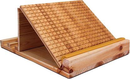 圖片 杉木摺疊腳底按摩拉筋板