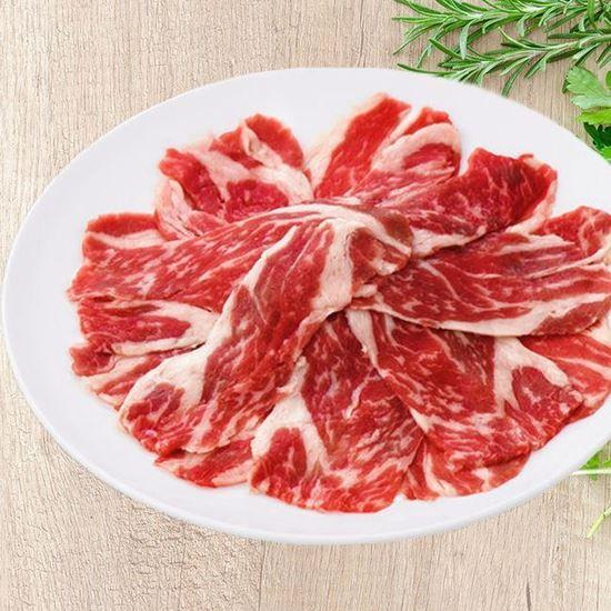 圖片 茗澤-安格斯熟成無骨牛燒肉火鍋片 200g/盒