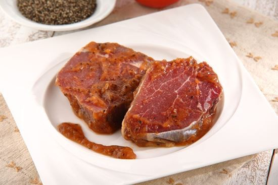圖片 茗澤-紐西蘭黑胡椒菲力牛排 430g/包