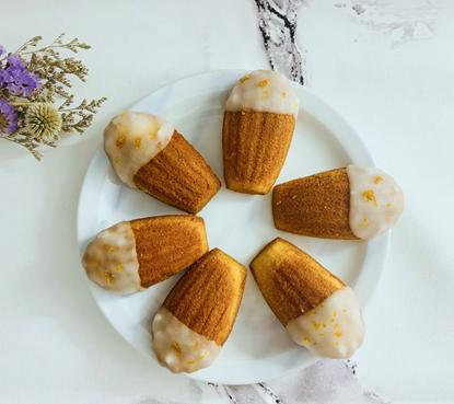 圖片 甜點日常-橙香瑪德蓮