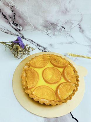 圖片 甜點日常-酸v酸v檸檬塔