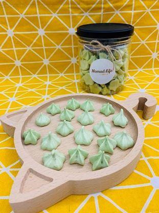 圖片 甜點日常-小山園抹茶馬林糖