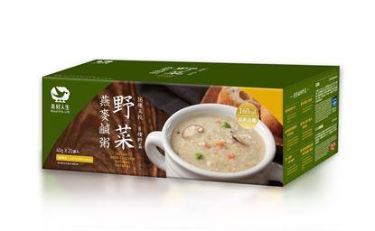 圖片 美好人生-高鈣高纖野菜燕麥鹹粥 20包/盒
