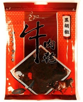 圖片 進發黑胡椒牛肉乾100克/包X12
